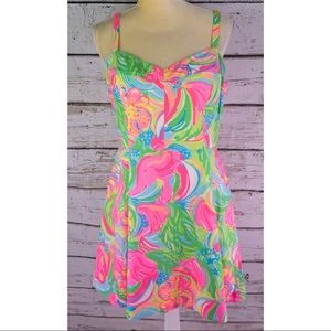 NWT's, Lilly Pulitzer Elephants Fit & Flare Dress
